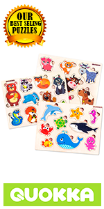 wooden puzzles for toddlers and kids boys and girls ages 1 2 3 babies