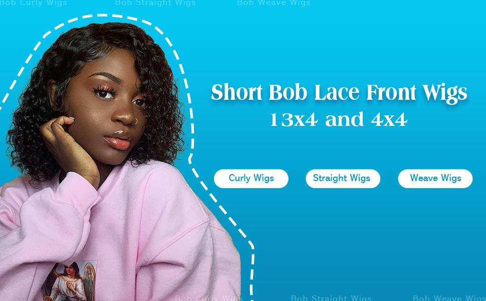 Short Bob Lace Front Wig