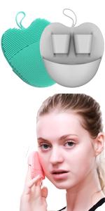 Face Cleansing Brush Washing Pad Facial Exfoliating Blackhead Cleansing brush