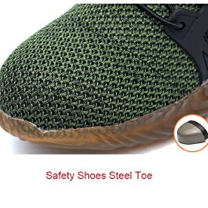 saferty shoes steel toe
