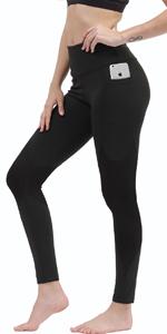 High Waist Yoga Leggings Side Pockets