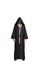 Spooktacular Creations Adult Men Tunic Hooded Robe Cloak Halloween