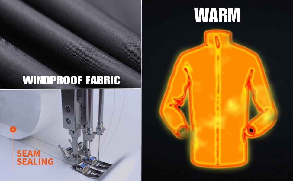 waterproof winter coat