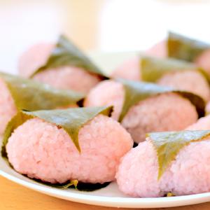 sakura mochi Japanese rice cake