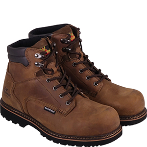 "Thorogood Men's V-Series 6"" Waterproof, Composite Safety Toe Boot"