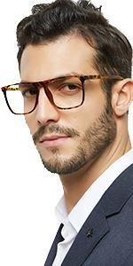 unique reading glasses men square readers for male