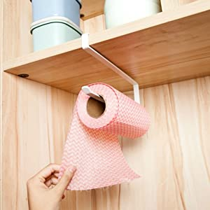 Paper holder without drilling nail free
