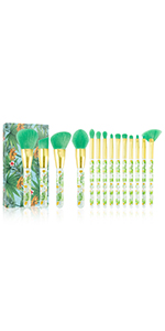 Tropical Makeup Brushes