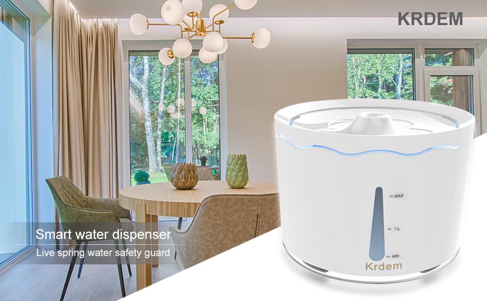 Smart water dispenser