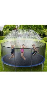 Trampoline Sprinklers for Kids
