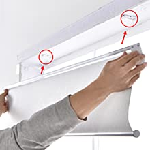 blackout roller shades allbright roller blactout shades white roller blinds uv pv protection windows