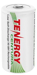 Centura rechargeable Batteries D