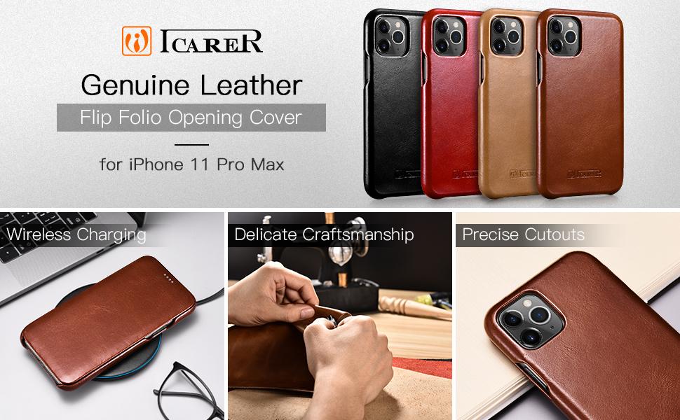 iPhone 11 Pro Max flip case
