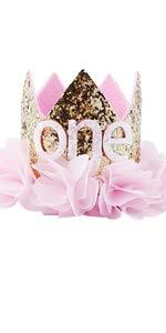 birthday crown headband headwear