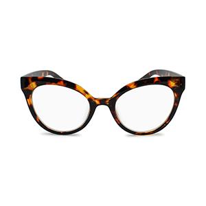 oversized cat eye reading glasses for women tortoise brown