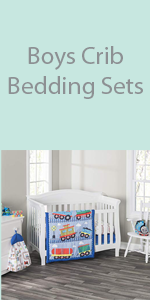 boys crib bedding set