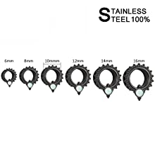 Plugs and Tunnels Gauge Size