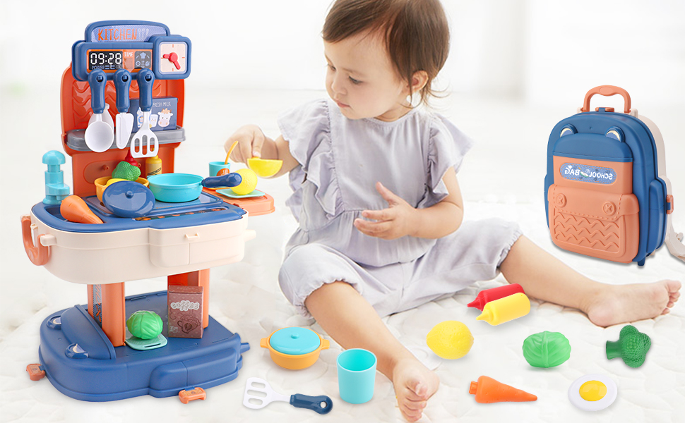 PLAY KITCHEN TOY SETS
