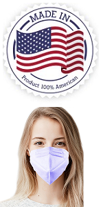 5 Ply Face Mask Made in USA only