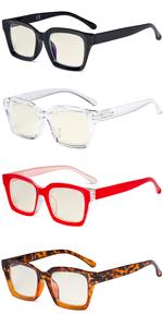 Oprah Blue Light Blocking Reading Glasses Anti Glare Digital Eyestrain Reader