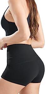 Booty Yoga Shorts With Pockets