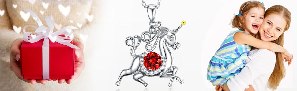 unicorn jewelry for daughter girls