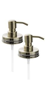 KEEGH Bronze mason jar pump lids
