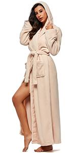 mens warm robe