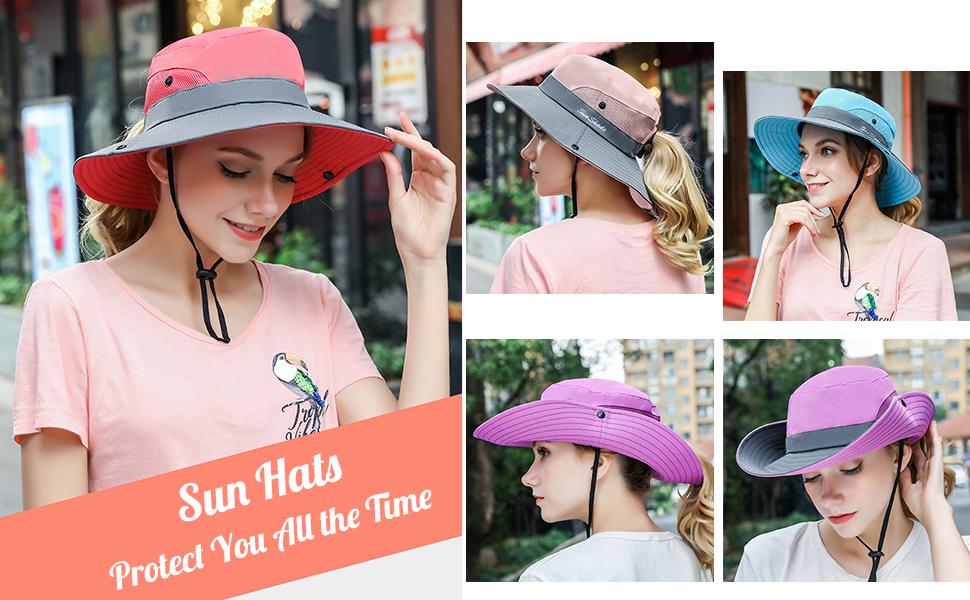 fishing has for women girls sun hat