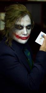 joker short wig men adult