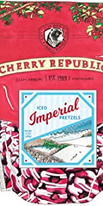 Iced Imperial Pretzels