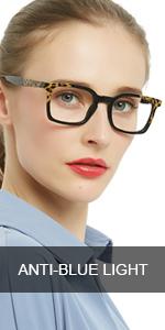 OCCI CHIARI Blue Light Blocking Reading Glasses Women Computer Readers 0 1.0 1.5 2.0 2.5 3.0 3.5 4.0