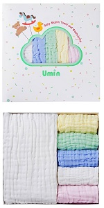 Baby Towel and Washcloths