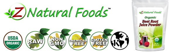 z natural foods beet root juice powder organic