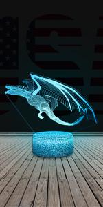 dragon night light for boys
