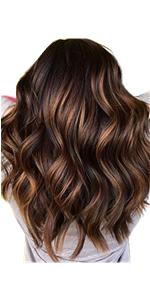 Short Highlight Color Wig