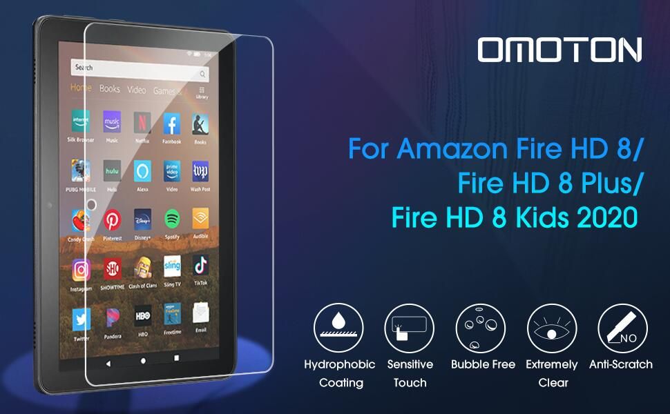 Fire HD 8 2020 Screen Protector