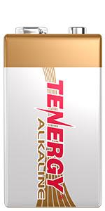 Tenergy Alkaline 9V