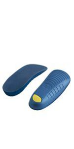 half shoe insoles heel cushion