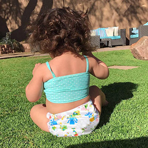 baby water diapers
