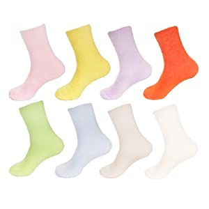 bright colored socks