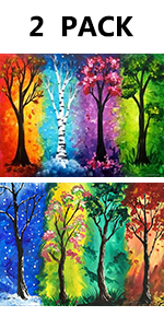 diamond painting tree