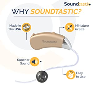 hearing aids, hearing devices, hearing amplifiers, seniors, volume control, deaf