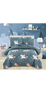 Unicorn Bed Set