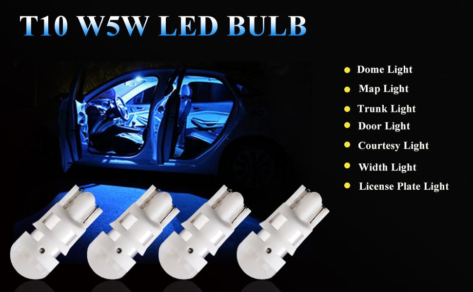 automotive light bulb194 168 car interior accessories reading light921 led reverse light rv interior