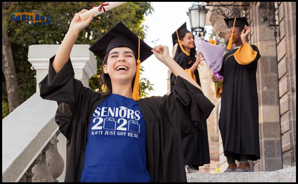 Seniors 2020 Adult T-shirt