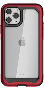 iPhone 11 Pro Max Metal Case Heavy Duty Protection Slim Fit Clear Shockproof Aluminum Bumper Armor