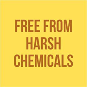 free from harsh chemicals