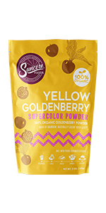 Suncore Foods Yellow Goldenberry Supercolor Powder