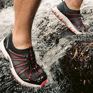 water hiking